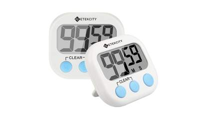 digital kitchen timer with big numbers