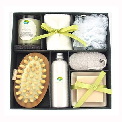 essential oil blends spa gift set