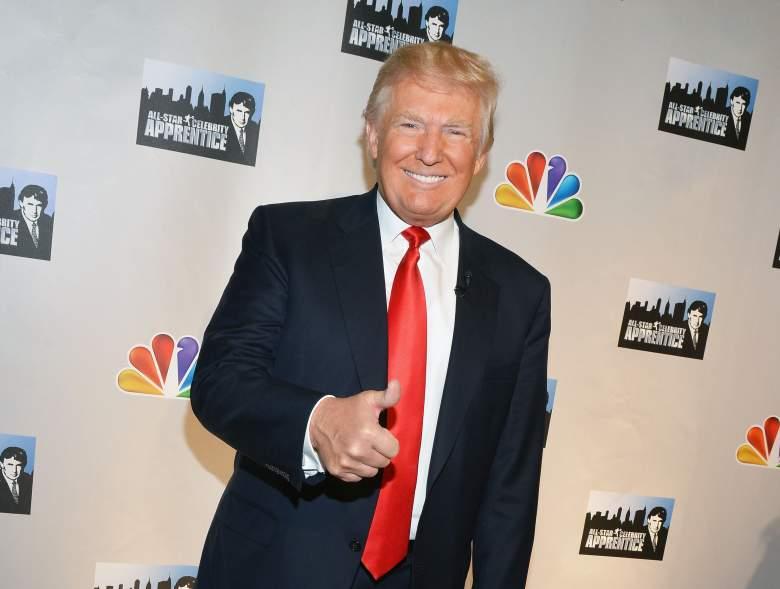 Donald Trump The Apprentice, Donald Trump The Apprentice red carpet, Donald Trump celebrity apprentice press conference