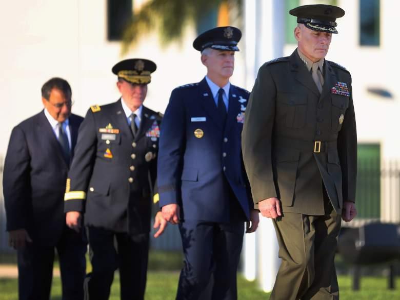John Kelly army, John Kelly change of command ceremony, John Kelly Trump