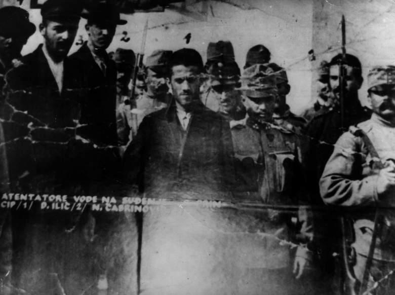 Franz Ferdinand assassination, Andrey Karlov assassination, Gavrilo Princip