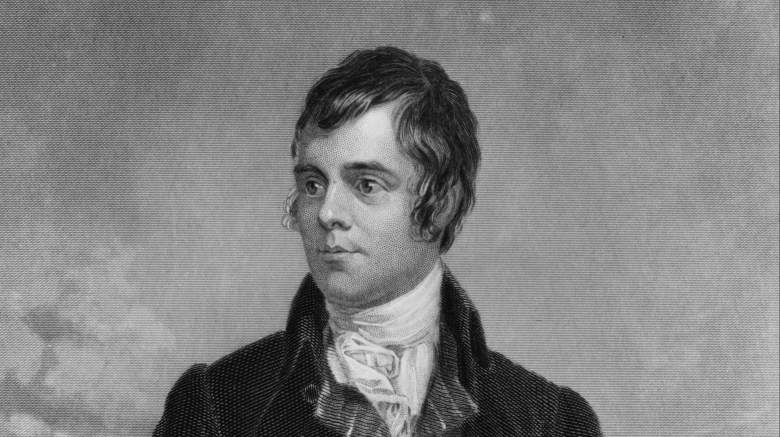 Auld Lang Syne author, Robert Burns, Auld Lang Syne meaning