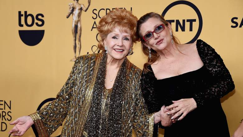 Debbie Reynolds Carrie Fisher, Debbie Reynolds SAG AWards, Debbie Reynolds tributes