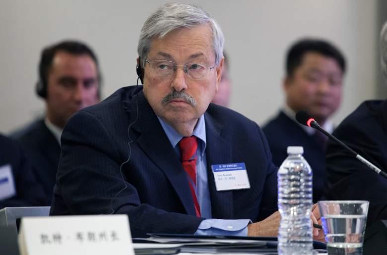 Terry Branstad China, Terry Branstad Iowa, Terry Branstad China ambassador