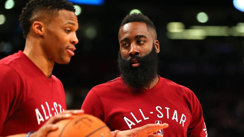 Russell Westbrook James Harden Stats