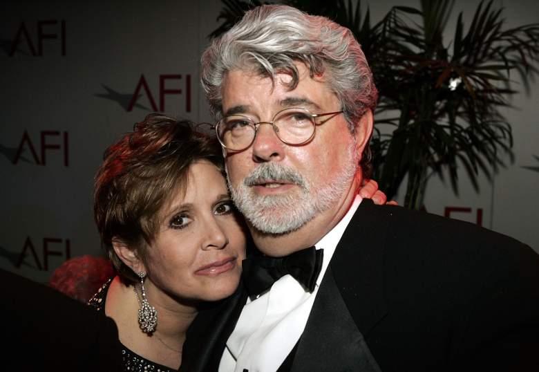 Star Wars cast, George Lucas Carrie Fisher, Star Wars creator