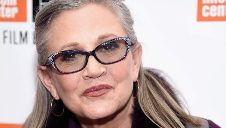 carrie fisher health