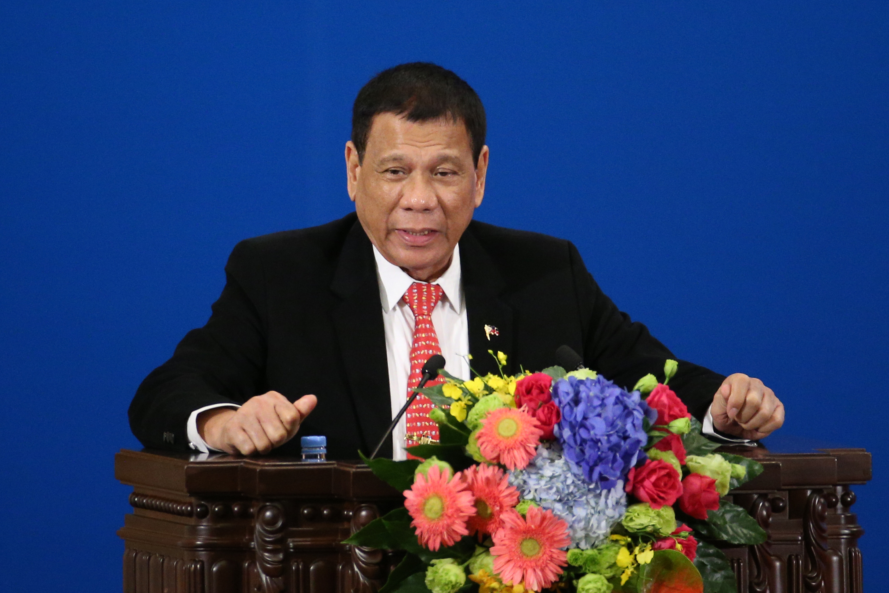 Philippine President Rodrigo Duterte Visits China