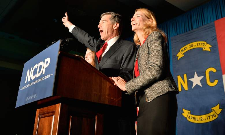 Roy Cooper, Roy Cooper family, new North Carolina Governor, Roy Cooper wife