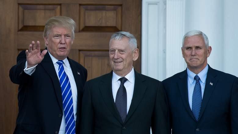 James Mattis, Mad Dog Mattis, Donald Trump Defense Secretary