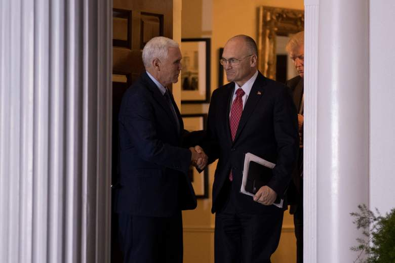 Andrew Puzder Mike Pence, Andrew Puzder Donald Trump, Andrew Puzder mike pence donald trump