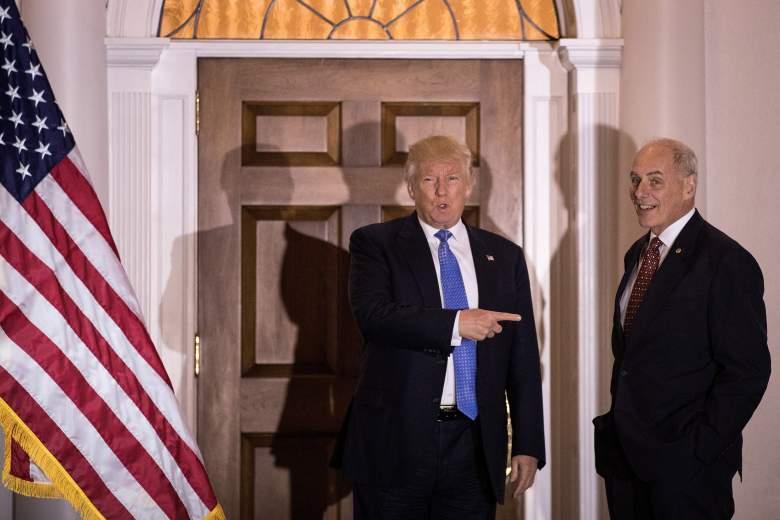 John Kelly Donald Trump, Donald Trump John Kelly meeting, John Kelly trump cabinet