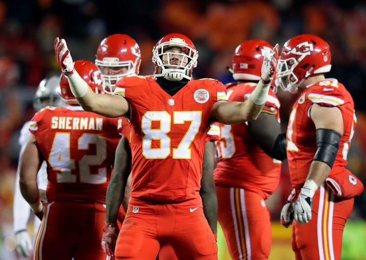 travis kelce, week 5, fantasy football, rankings, tight ends