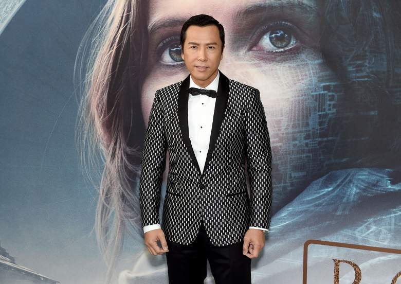 Donnie Yen handprints, Cirrut Imwe actor, Donnie Yen Star Wars character, Donnie Yen bio