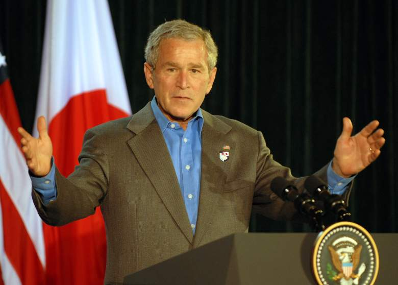 George W Bush 2007, George W Bush press conference, George W Bush camp david