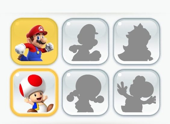 Super Mario Run, Super Mario Run toad, Super Mario Run characters