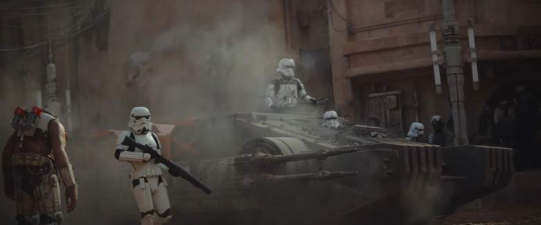 Imperial Hovertank, Rogue One ships, Rogue One technology, Star Wars technology
