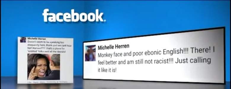 Michelle Herren, Racism, Monkey Face Obama, Denver racist doctor