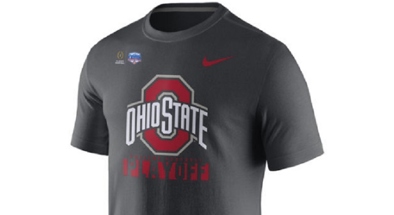 ohio state osu buckeyes 2016 college football playoffs cfp fiesta bowl gear apparel shirts hats hoodies buy online