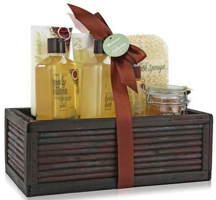 pinkleaf-green-tea-argan-oil-bamboo-spa-bath-gift-set