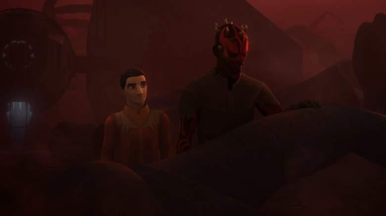 Star Wars Rebels, Rebels recap, Rebels Darth Maul, Rebels Visions and Voices