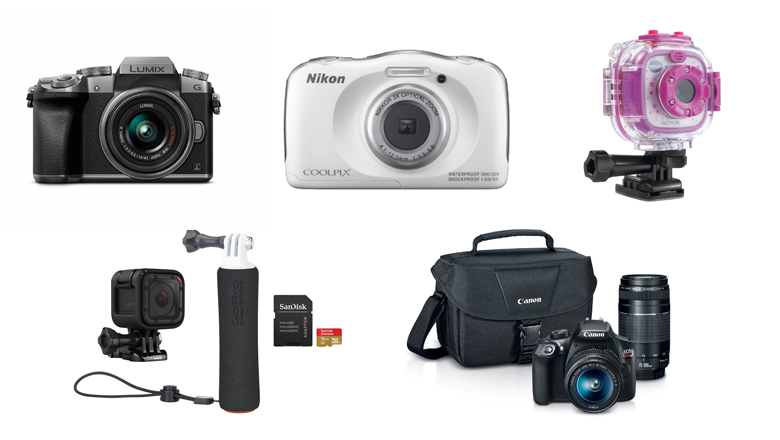 christmas camera gifts, sales on cameras, last minute christmas