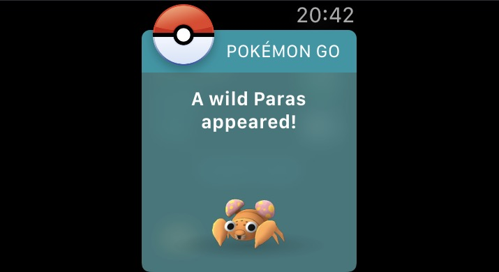pokemon go apple watch app