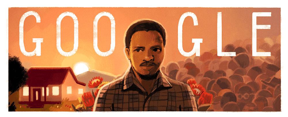 steve biko, steve biko google doodle, steve biko 70th birthday
