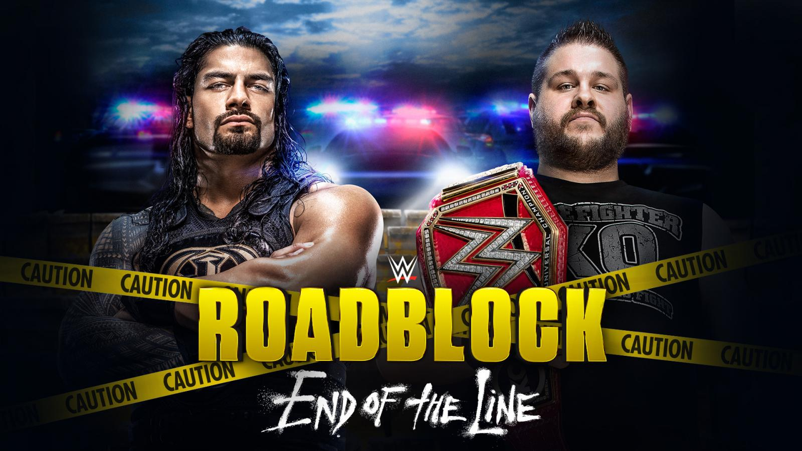 WWE Roadblock End of the Line