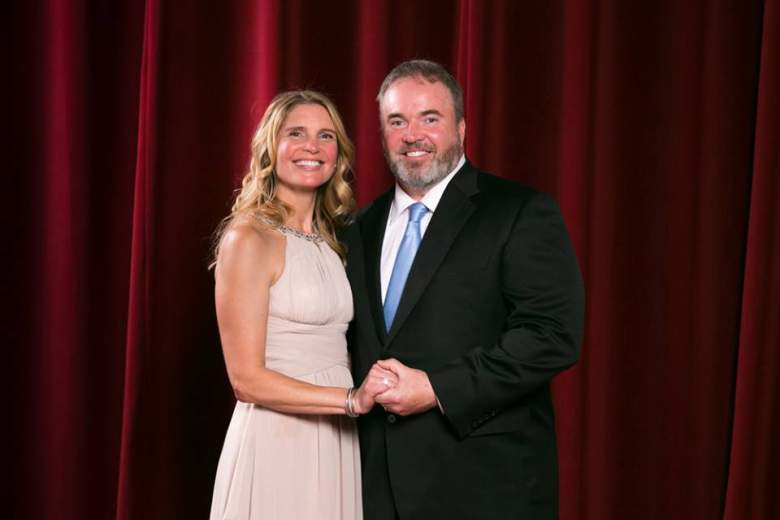 Packers coach Mike McCarthy and his wife, Jessica Kress. (Getty)