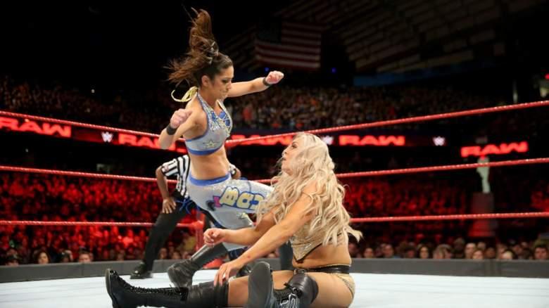 Monday Night Raw bayley, Monday Night Raw charlotte, wwe charlotte bayley