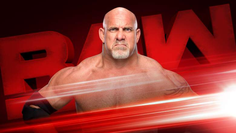 Monday Night Raw Goldberg, Monday Night Raw bill goldberg, goldberg raw return