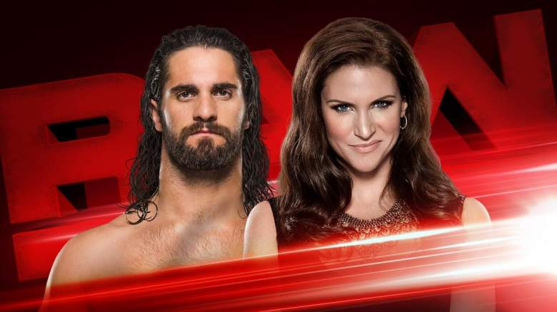 monday night raw seth rollins, monday night raw seth rollins stephanie mcmahon, seth rollins stephanie mcmahon