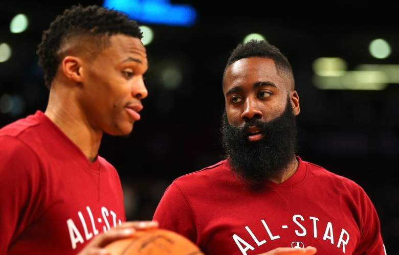 Russell Westbrook James Harden