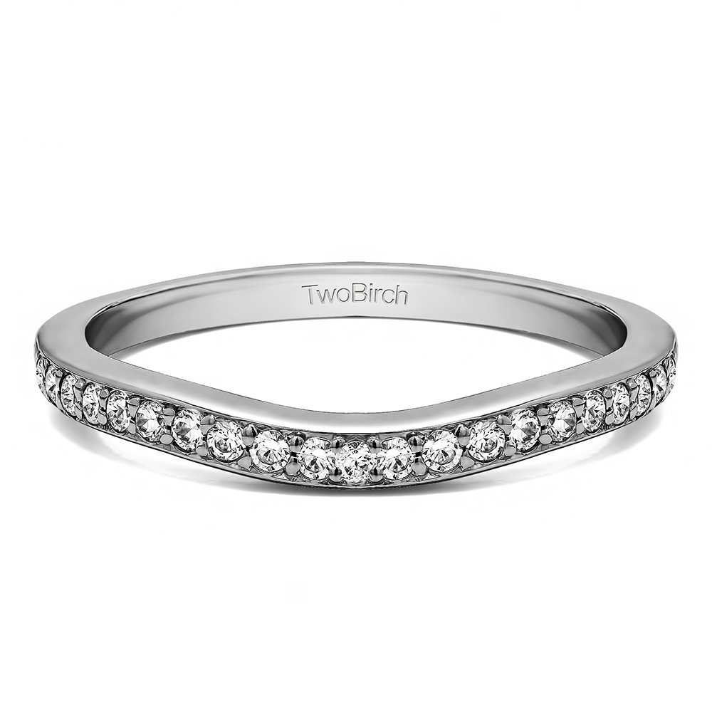 sterling silver tracer band