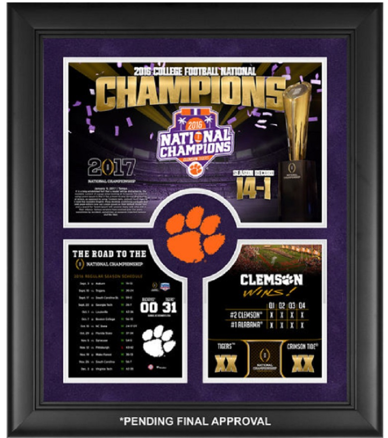 clemson tigers college football playoff cfp national champions gear apparel shirts hats hoodies 2017