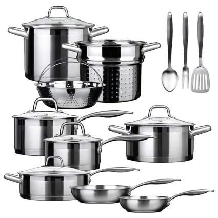 induction cookware set, best induction cookware set, induction pans