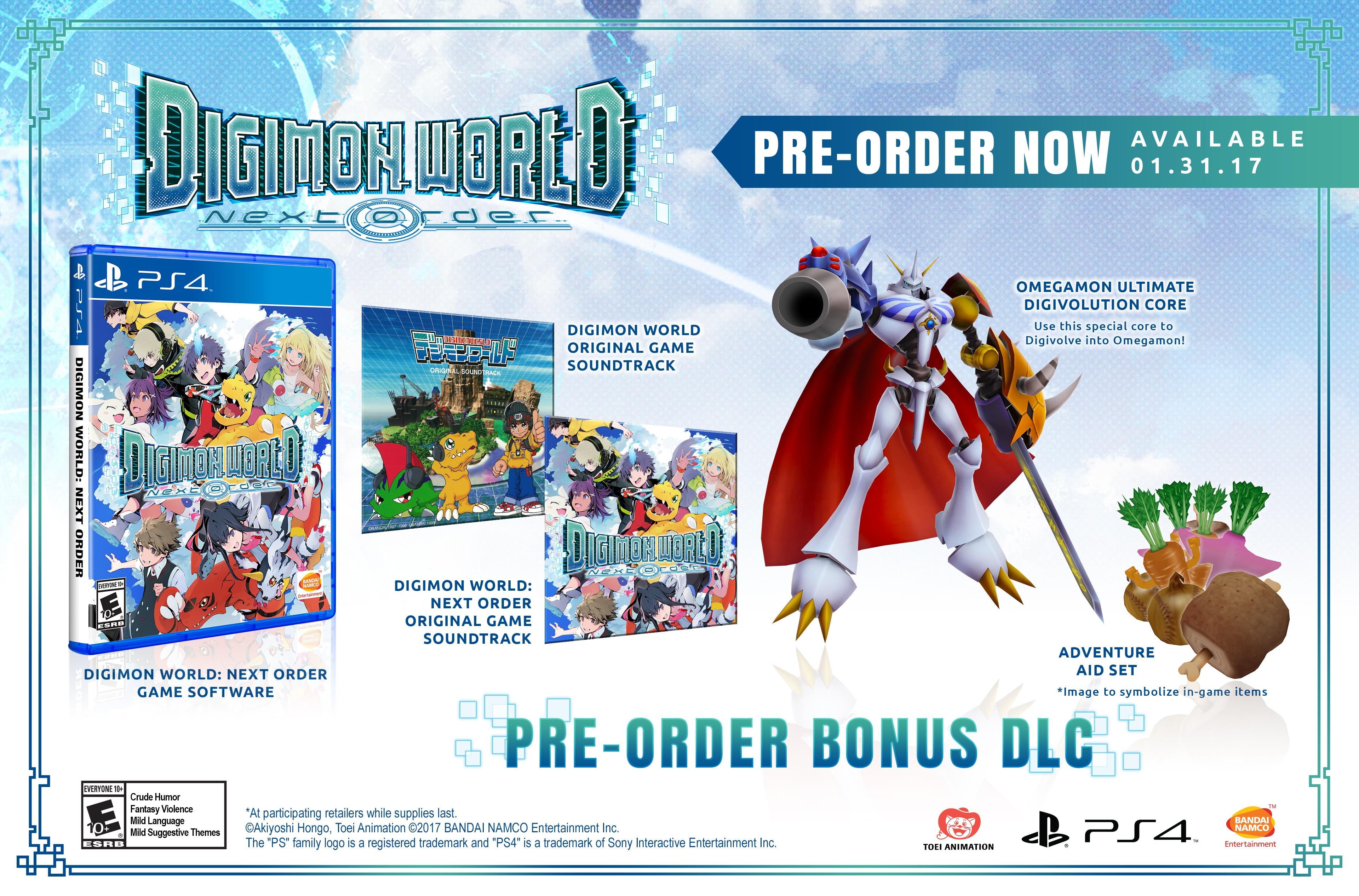 Digimon World Next Order Pre Order