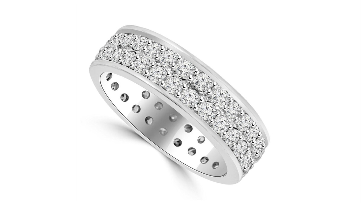 mens diamond wedding band
