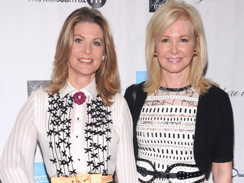 Kari Tiedemann and Hilary Geary Ross at the David H. Koch Theater at Lincoln Center on September 5, 2012. (Getty)