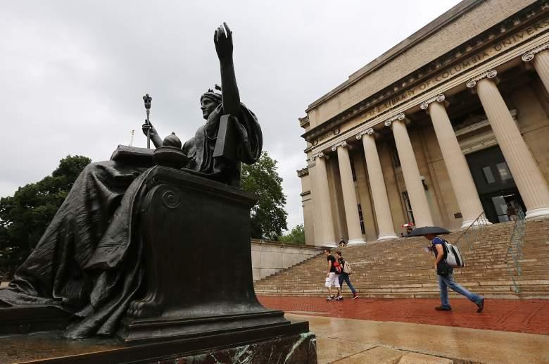 Columbia University, Columbia University alma matter statue, Columbia University alma matter
