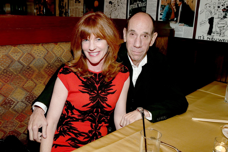 Miguel Ferrer with his wife, Lori Weintraub. (Getty)