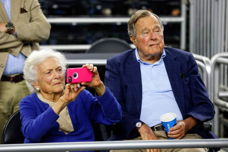 George HW Bush health, George HW Bush Donald Trump, George HW Bush attending inauguration