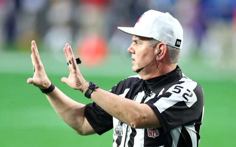 who is referee packer vs falcons 2017 nfc championship game bill vinovich