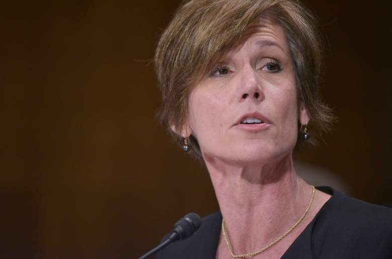 Sally Yates testifies before the Senate Judiciary Committee on July 8th, 2015. (Getty)