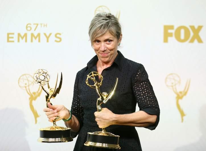 Frances McDormand Emmys, Frances McDormand 2015 emmys, Frances McDormand emmy awards