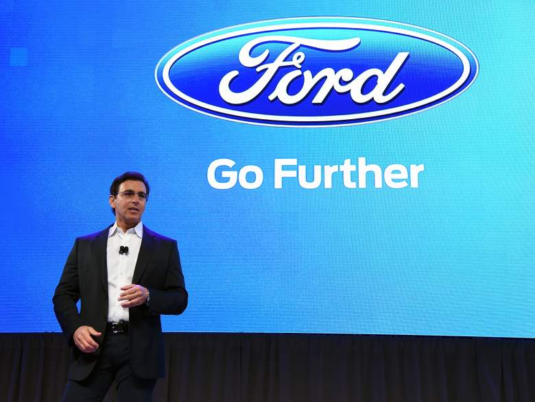 Mark Fields Ford, Mark Fields CES, Mark Fields press conference