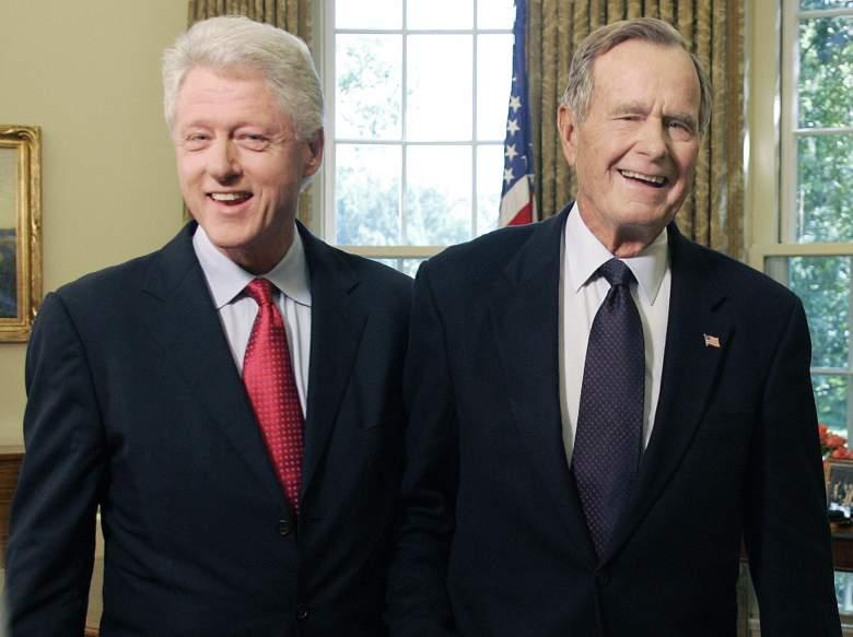 George HW Bush Bill Clinton, Clinton Bush, Bill Clinton George Bush friends