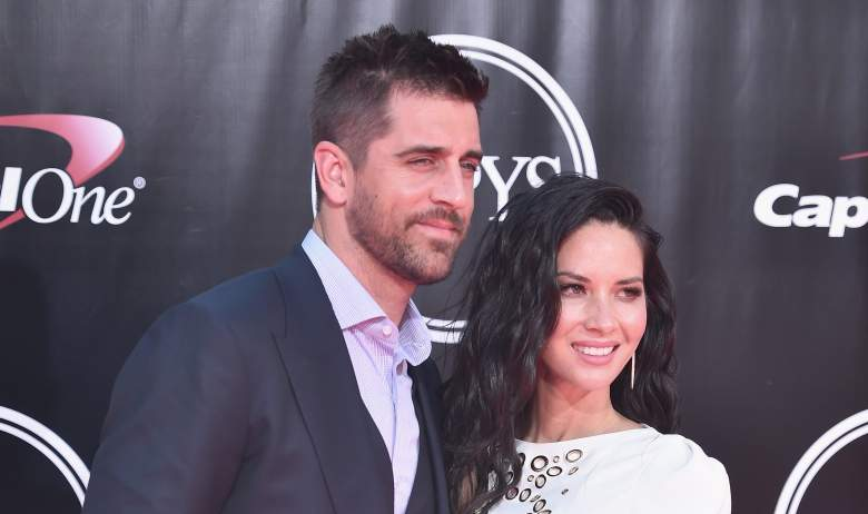 aaron rodgers olivia munn is couple engaged married wife fiancee girlfriend relationship status