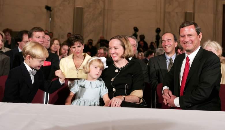 John roberts family, John Roberts kids, John Roberts son, John Roberts daughter